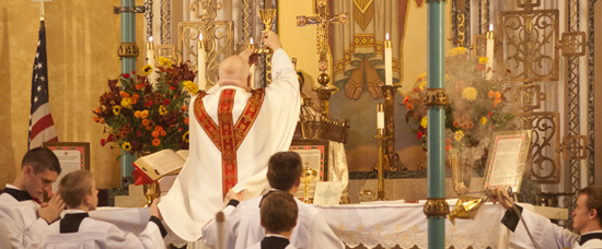 Latin Mass at St. John XXIII Parish